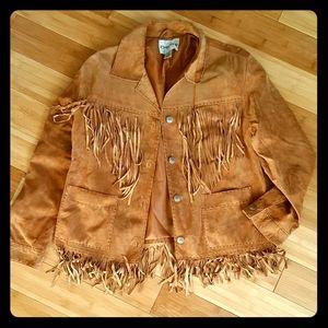 100% Genuine Leather Suede Jacket